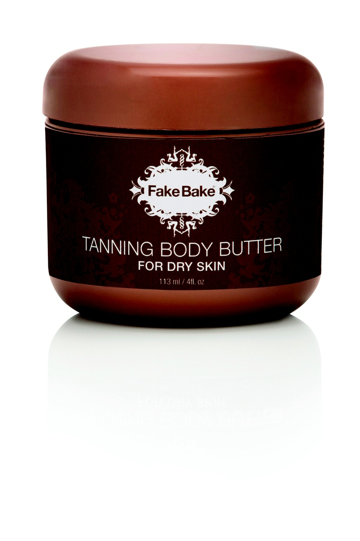 Fake Bake's Tanning Body Butter is the ideal streak-free tan for dry skin