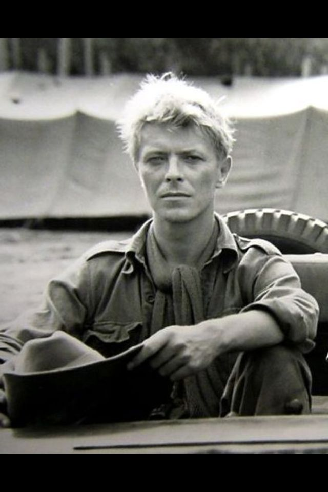 David Bowie - Merry Christmas Mr Lawrence. I biked 7 miles to a military base theatre to see the show right after boot camp. I was the only one there and I arrived late. After I bought popcorn and a canned soda for 35 cents and sat down, I'd been watching for a minute or two and the filmed stopped. I waited and then it started over from the beginning. That was awesome.