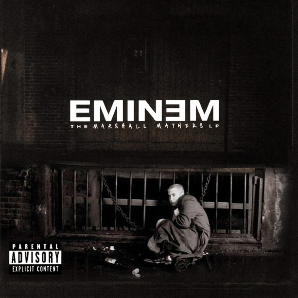 THE MARSHALL MATHERS LP (2001)   EMINƎM   Country: USA   What About: MY first 'Next Episode'.   Must Listen: Stan (featuring Dido)   #Eminem #Dido #Stan