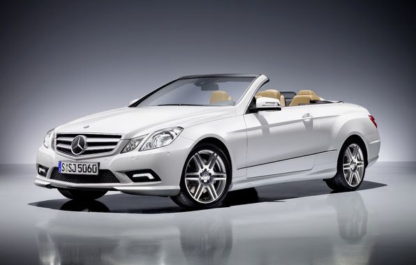 mercedes, e class cabrio, amg package, mercedes convertible, white