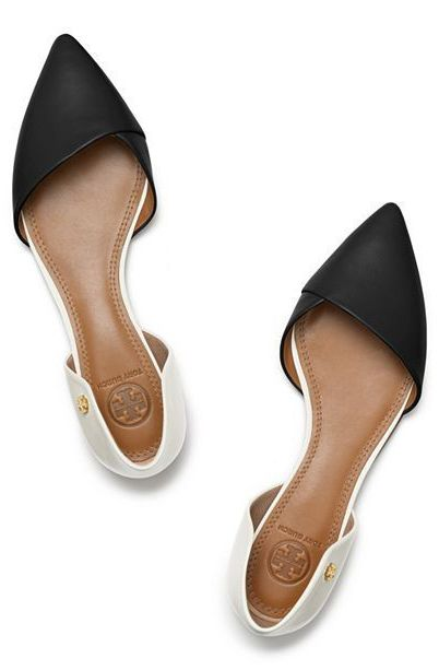 Tory Burch ~ Viv Flat Shoes. Perfect work shoes