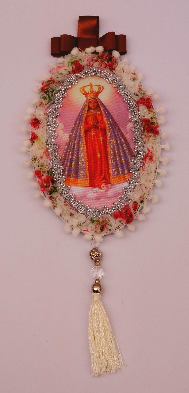 Medalhão de Nossa Senhora Aparecida