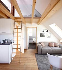 Who's dreaming of reading or relaxing in the cosy corner of this attic?