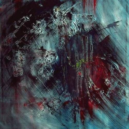 Ruth-Batke-Abstract-art-Emotions-Depression | paint ...