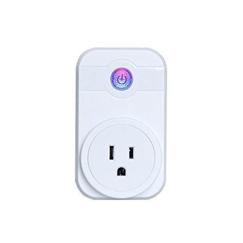 LINGANZH,Wi-Fi Smart Plug Timing Switch Power Monitoring Remote Control Socket Wireless Outlet,Works with Amazon Alexa - Wifi Smart Plug, Wireless and Remote Control your Devices from Anywhere, Works with Amazon Alexa Your Life Can Be A Lot Easier With The Smart Plug Turn things on and off from your smartphone or tablet using the mobile app. The app is easy to use and it'll send you customized notifications. Create...