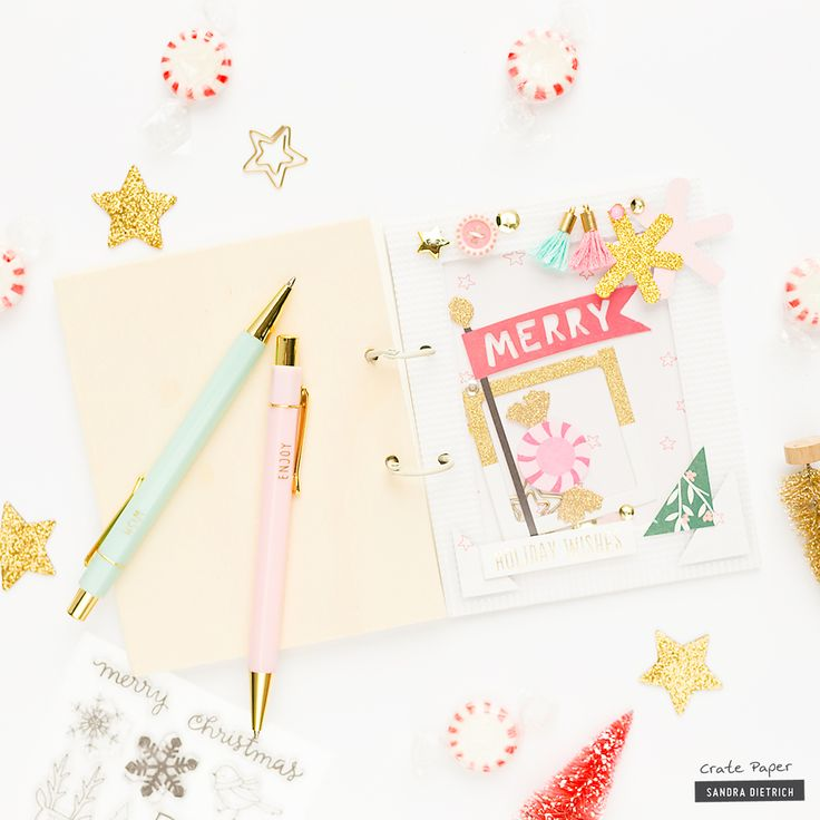 Crate Paper Decorated Notebook Cover