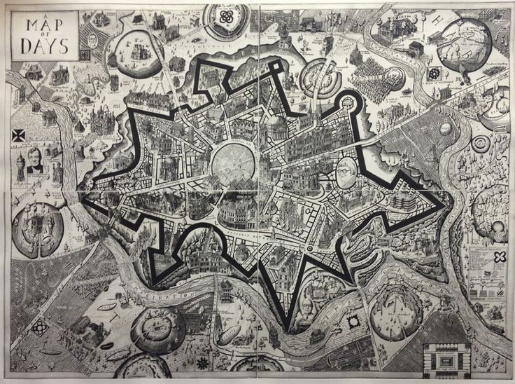 'A Map of Days' - Grayson Perry - Victoria Art Gallery