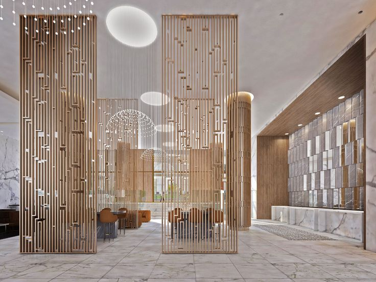 See The New Art Deco Look For Financial District Sheraton Hotel Lobby DesignModern