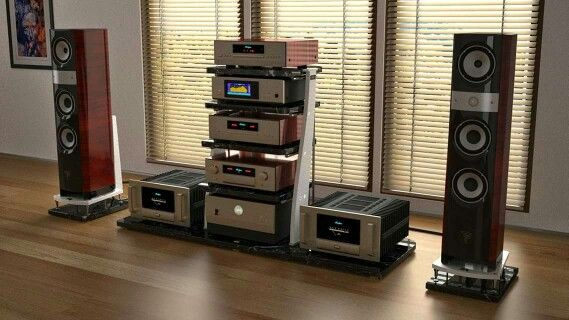 Full Accuphase Rack High End And Than Some Hifi