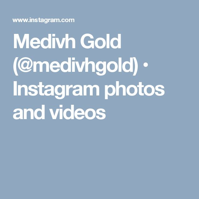 Medivh Gold (@medivhgold) • Instagram photos and videos
