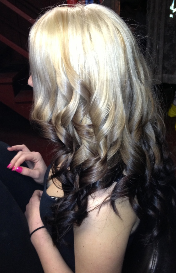 Light To Dark Ombr 233 Hair Pinterest
