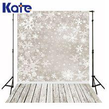 Рождественские фоны снег деревянный пол фотография зима новорожденный дети фотографии ребенка белый снежинка фонов для съемки студия(China (Mainland))