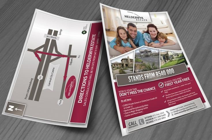 Helderwyk Estate Flyer Design