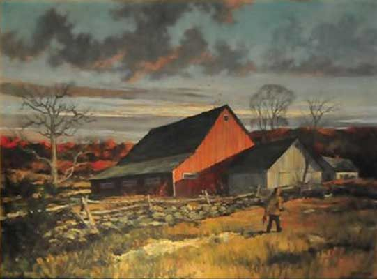Eric Sloane America Paintings In Oil
