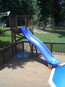 Kids Pools With Slides best 25+ pool slides ideas only on pinterest | swimming pool