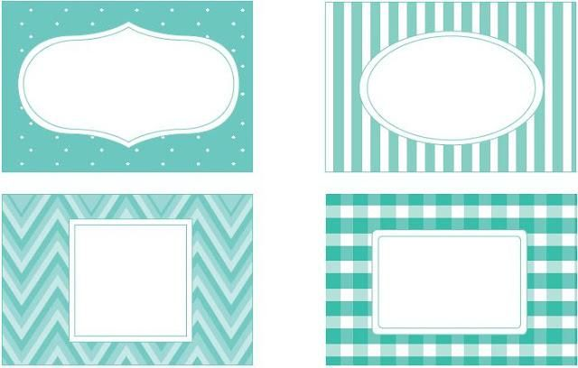 Imprimibles by Srta Edwina #7: Etiquetas para la cocina
