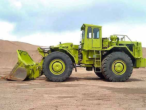Living out its twilight years in a sand and gravel plant in Illinois, this Terex 72-81 is still in excellent condition considering the type was last manufactured in 1982. This girl is at least 34 years old and still earning her keep. A real credit to the owner and operator.