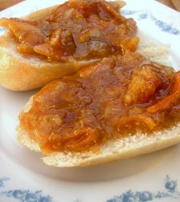 Herkkusuun lautasella-Ruokablogi: Mantelinen mandariinimarmeladi