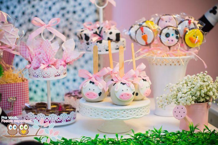 Festa fazendinha rosa: especial para meninas! (Farm Girl Party)