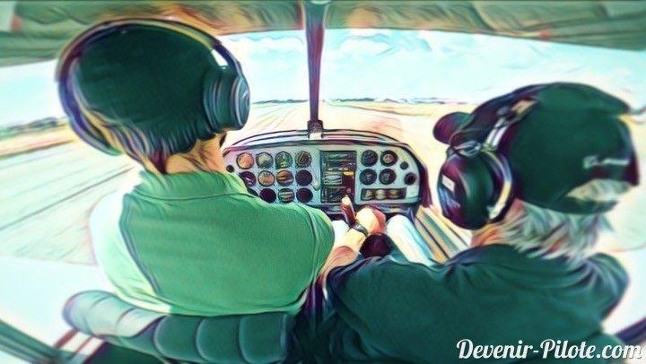 Jour 21 – Vol avec le superviseur de notre Instructeur. Marc étant un instructeur récemment certifié, nous devons effectuer un vol avec son superviseur avant de pouvoir être lâché en solo.