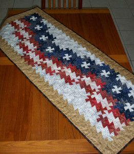 Country Schoolhouse CS Twister Ruler Itty Bitty Primitive Pinwheel Tool Fabric Quilt Quilts fabric flag table runner tablerunner Patriot Patriotic 4th of July America American flag red white and blue reproduction fabric Jo Morton