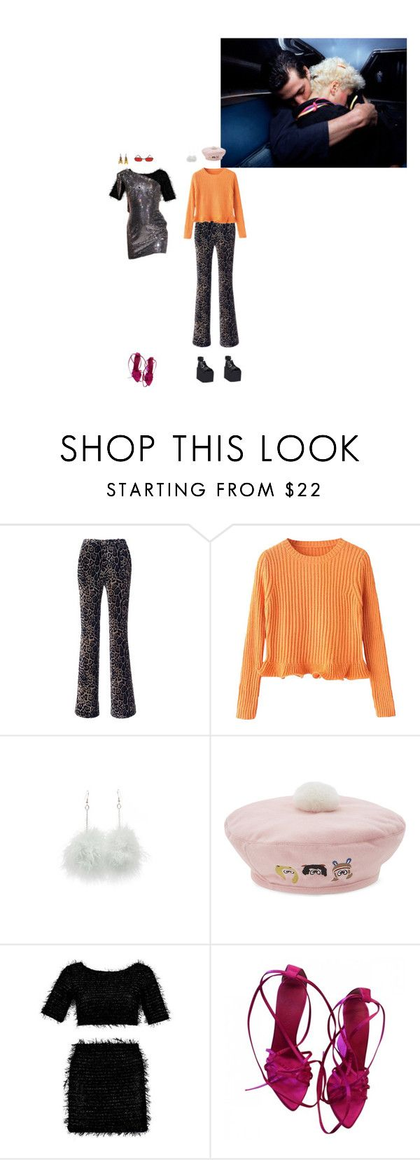 """Foldin Clothes"" by rojinnn ❤ liked on Polyvore featuring Roberto Cavalli, Mini Cream and Yves Saint Laurent"