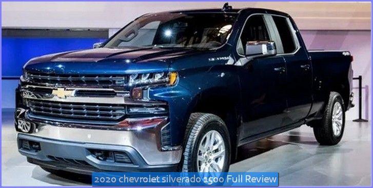 2020 Chevrolet Silverado 1500 Test Drive Review In 2020 Chevrolet Silverado 1500 Chevrolet Silverado Chevrolet