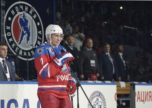 В день рождения Путин сыграл в хоккей - Korrespondent.net