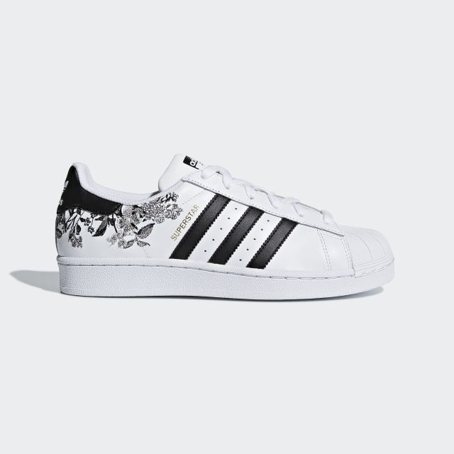 Adidas Women's Originals Superstar W Cloud WhiteCloud WhiteGold Metallic DB3495