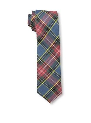 53% OFF Gitman Men's Multi Plaid Tie, Red