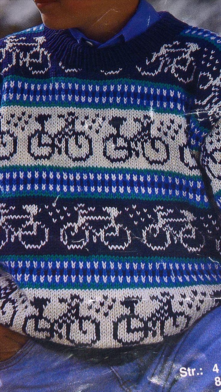 Dejlig drenge sweater