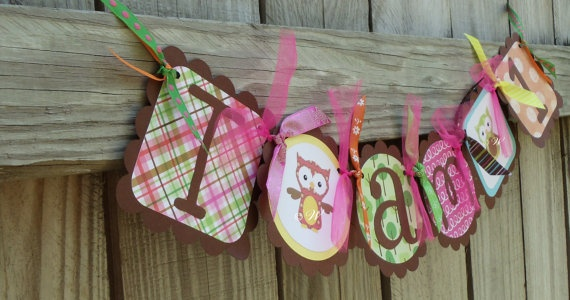 Owl Party - @Christina Schultz this would be so cute for Laylay's 1st birthday!!