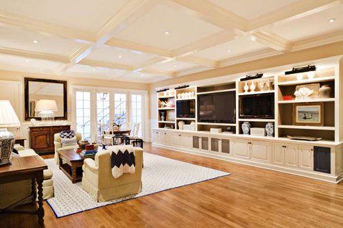 Built in shelves: Living Rooms, Built In, Beautiful Basement, Family Rooms, Mancave, House, Space, Basement Ideas, Basements