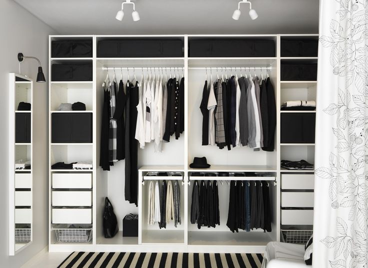 Image result for open closet