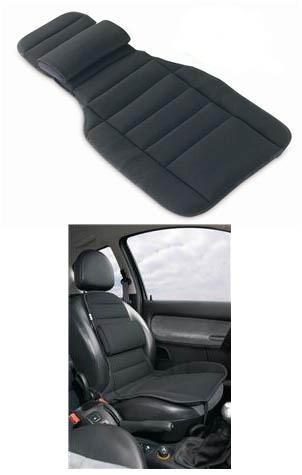 De Car comforter is een Tempur kussen dat in de autostoel gelegd kan worden en maximale ondersteuning biedt aan het zit- en ruggedeelte.