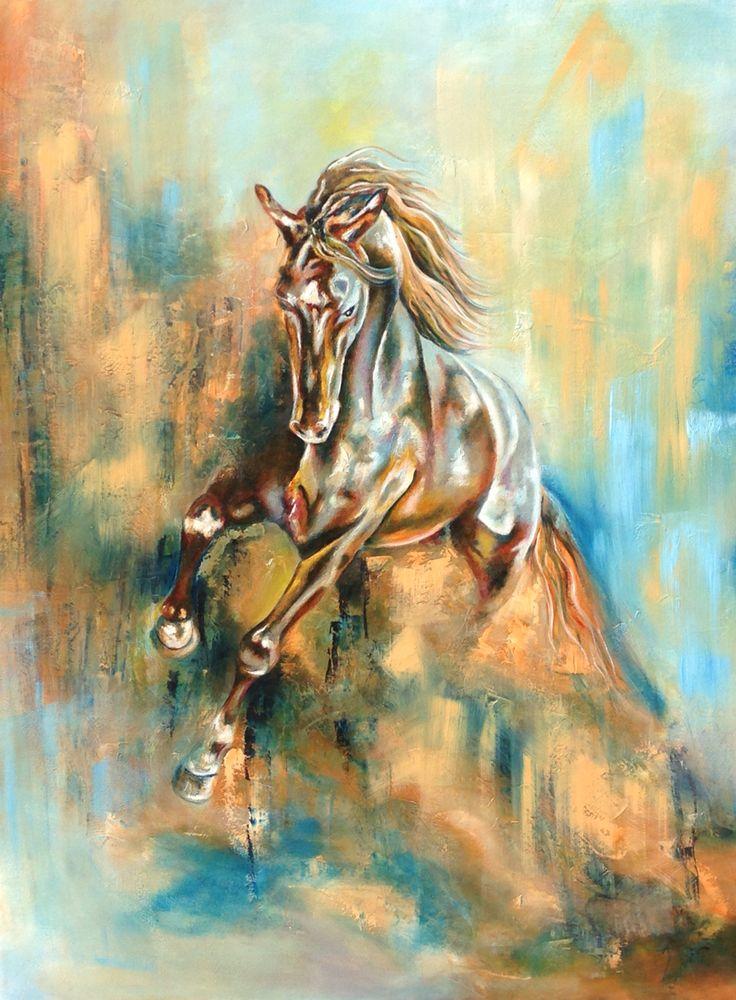 """Whorlwind"" Oil on Canvas 1.2m x 0.9m (35"" x 47"")"