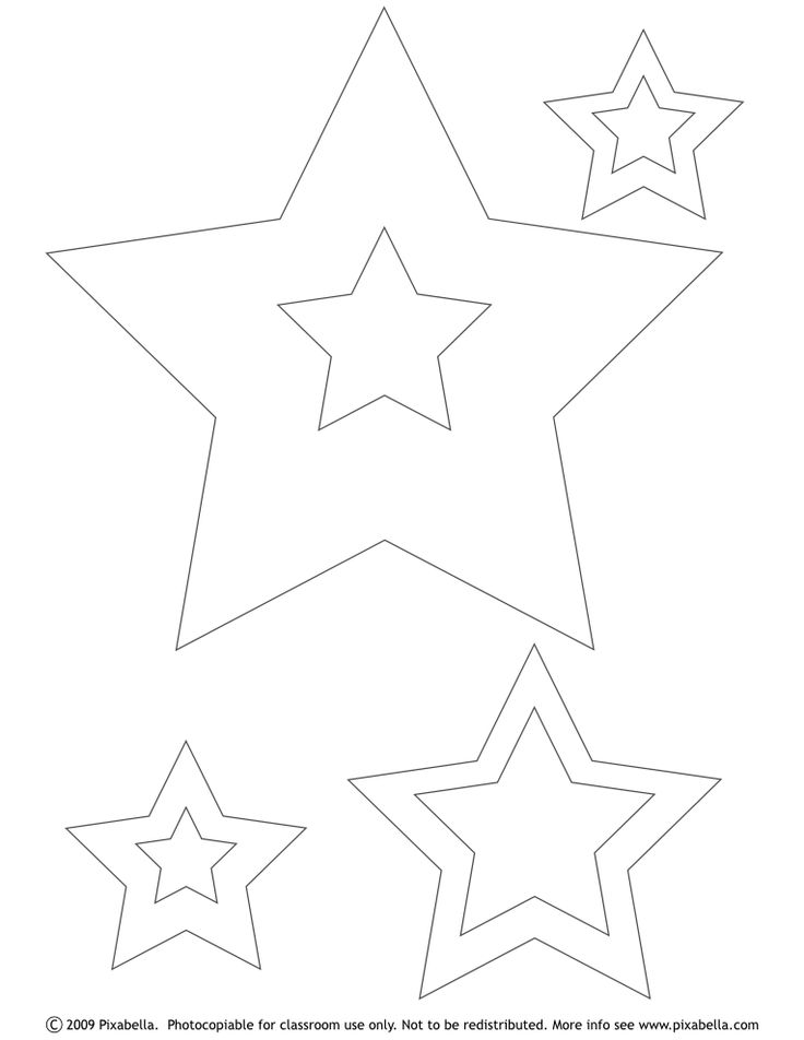 Best  Star Stencil Ideas On   Star Template