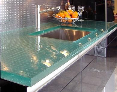 Nice Glass Countertops. Using Glass Is One Of The Best Ways You Can Modernize  Your Kitchen