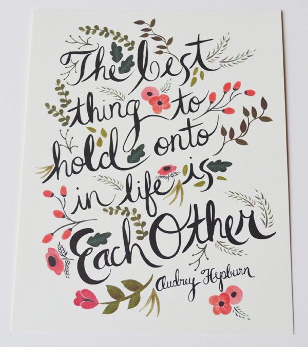 !: Audrey Quotes, Hold On, Inspiration, Life, Small Bedrooms, Audrey Hepburn Quotes, Words Art, Audreyhepburn, Things