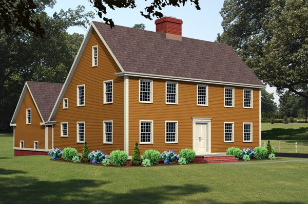 1000 images about homes colonial salt boxes on pinterest for Saltbox style house plans