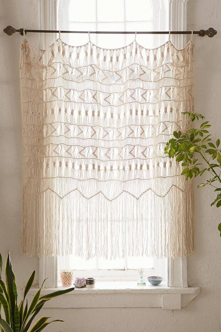 wall hanging macrame curtain macrame wall hangings short curtains
