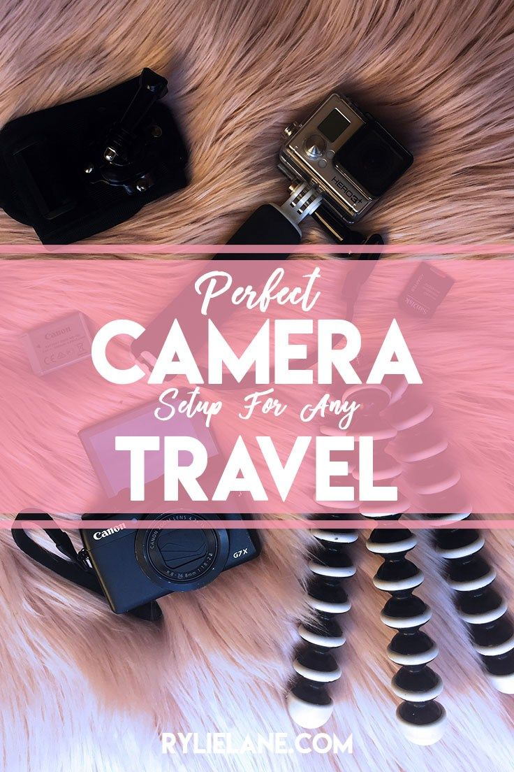 Perfect Camera Setup For Any Travel | Rylie Lane