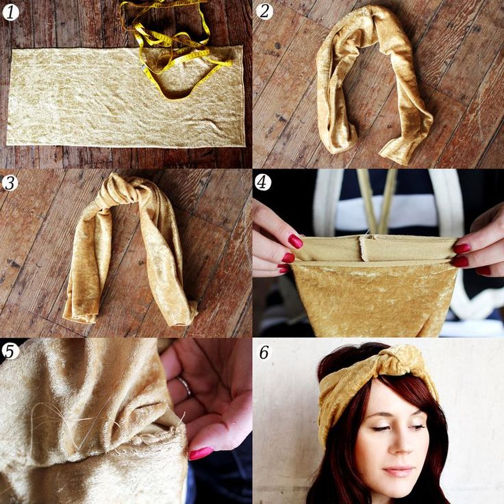 Tips for Sewing Stretch FabricBandeau Diy, Fabrics Diy, Velvet Turbans, Diy Velvet, Diy Mode, Stretchy Fabrics, Diy Headbands, Stretch Fabrics, Sewing Stretch