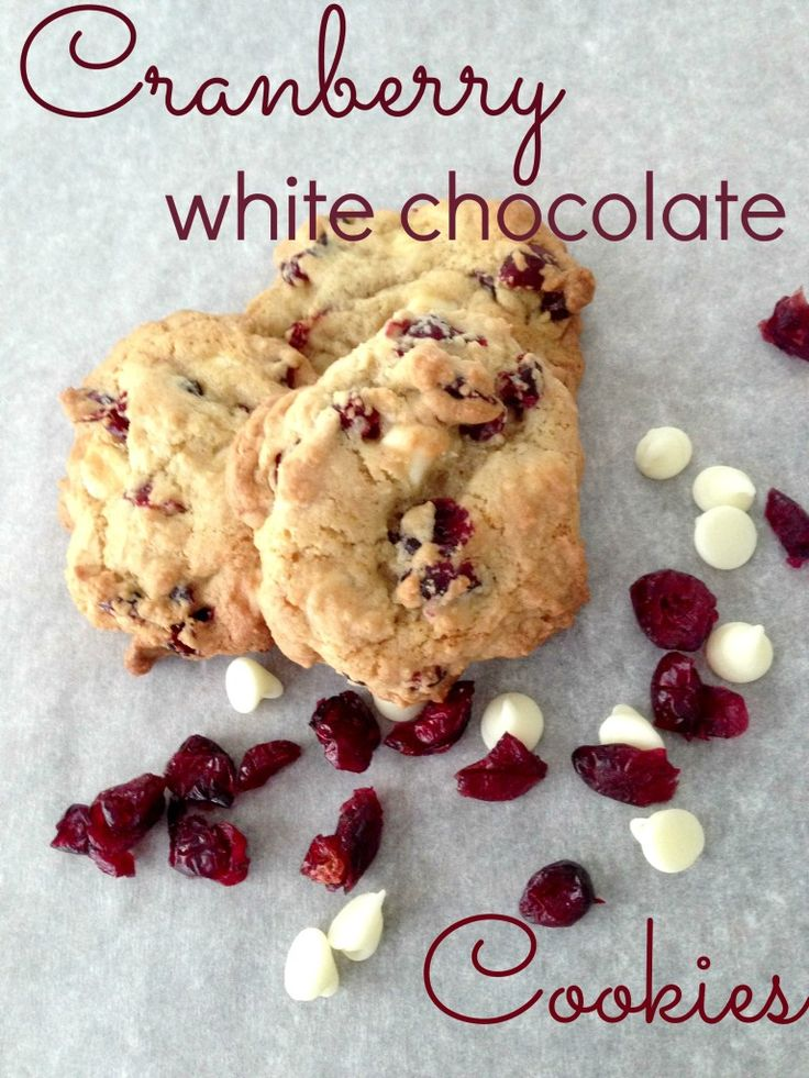 Cranberry White Chocolate Chip Cookie Recipe