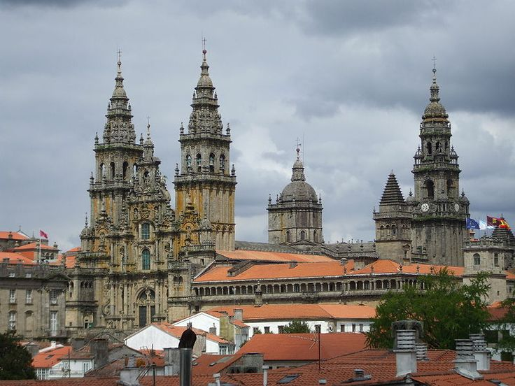 Catedral de Santiago de Compostela, Galicia, Spain