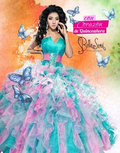 51 Best Images About Quincea Era Dresses On Pinterest