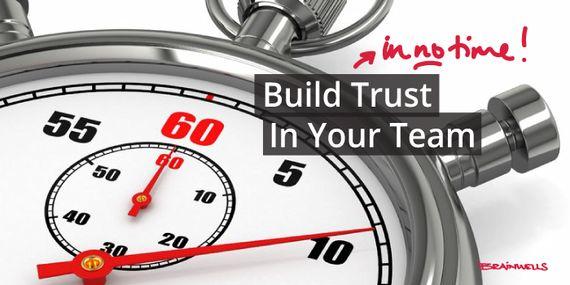 Build Trust in Your Team in No Time! #Brainwells #Leadership #Facilitation