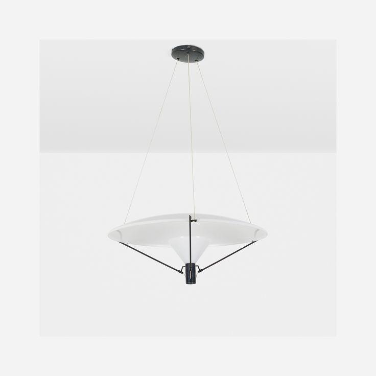 267: Gino Sarfatti / chandelier, model 2047 < Design, 11 June 2015 < Auctions   Wright