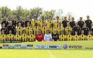 Mannschaftsfoto von Borussia Dortmund