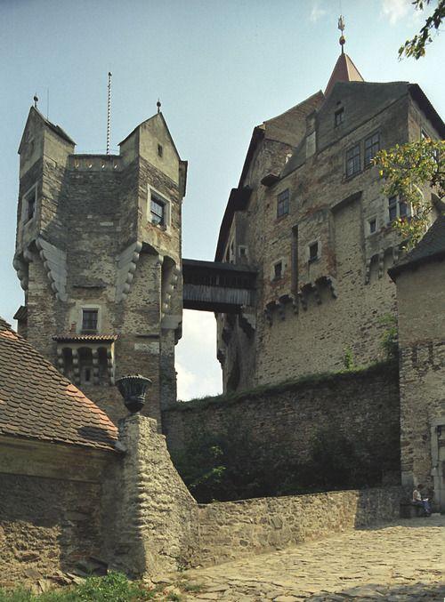 Pernštejn Castle (North Moravia), Czechia